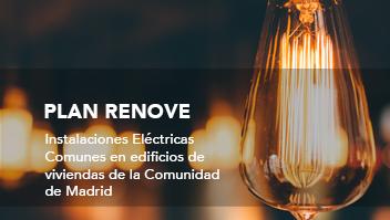 plan renove electricidad