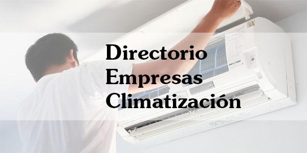 Directorio Empresas habilitadas para instalar equipos climatización