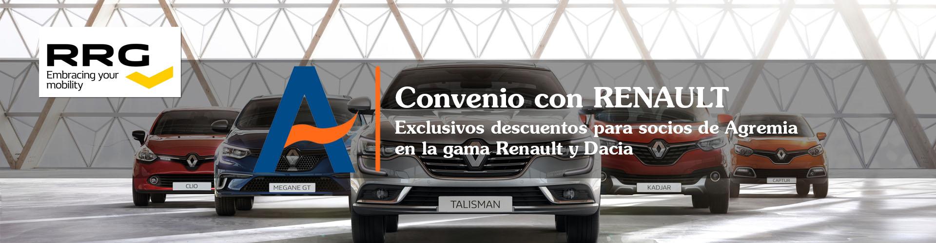 Convenio Renault Agremia