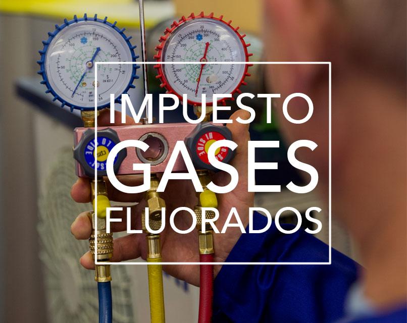 Impuesto Gases Fluorados nuevas tarifas sept 2018