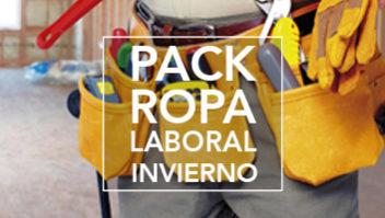 Pack ROPA LABORAL invierno 2018