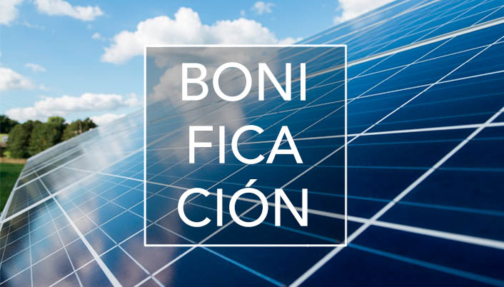 Bonificación en el Impuesto sobre Bienes Inmuebles (IBI) a todos los edificios que instalen sistemas de aprovechamiento de la energía solar